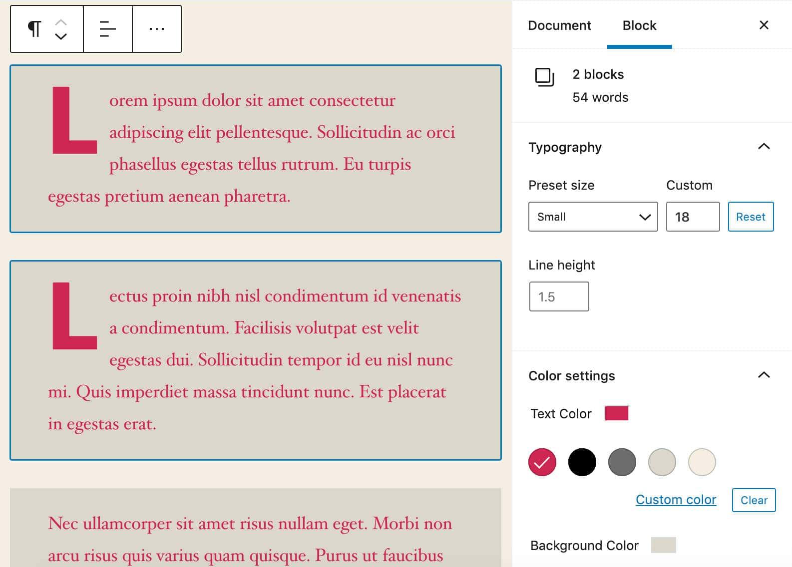 multiple-blocks-formatting